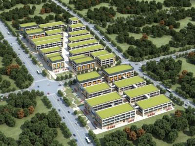 商業廠房模型3d模型
