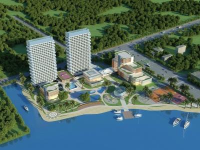 酒店度假村模型3d模型