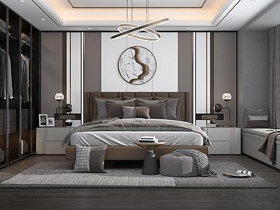 臥室模型3d模型