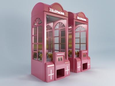 現代娃娃機模型3d模型