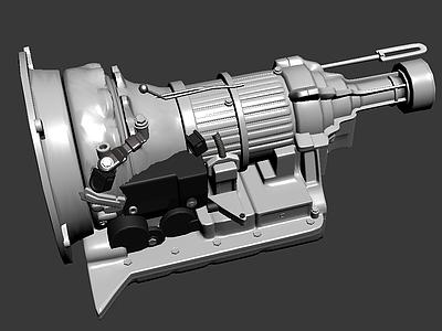 變速器3d模型