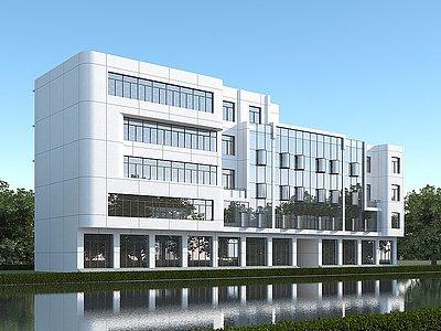 現代辦公樓行政樓3d模型
