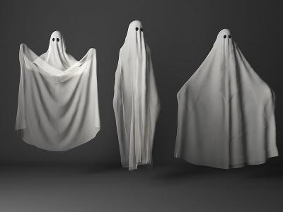 幽靈3d模型
