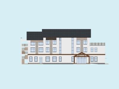 建筑管理用房3d模型