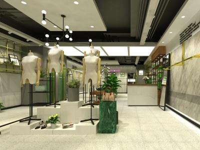 現代服裝店模型3d模型