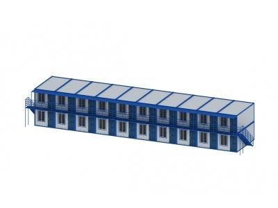 集裝箱宿舍模型