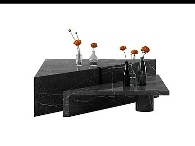 餐邊柜桌子茶幾模型3d模型