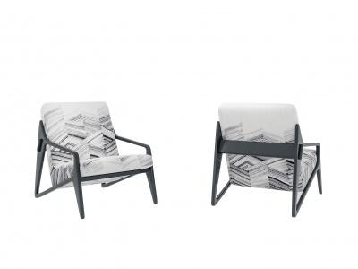 現代休閑椅模型3d模型