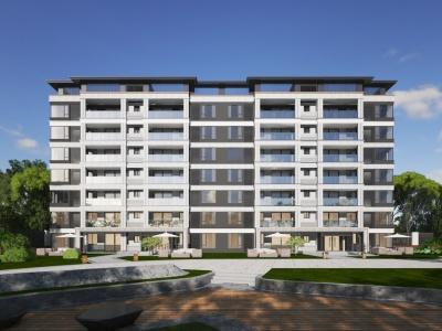 小區住宅樓3d模型