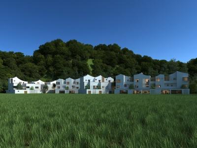 現代農村別墅模型3d模型