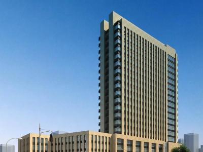 簡歐辦公樓模型3d模型