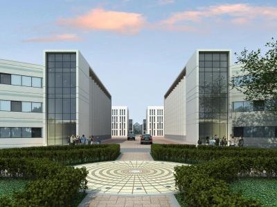 現代綜合辦公樓模型3d模型