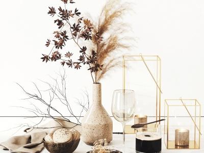 現代裝飾品陳設品模型3d模型