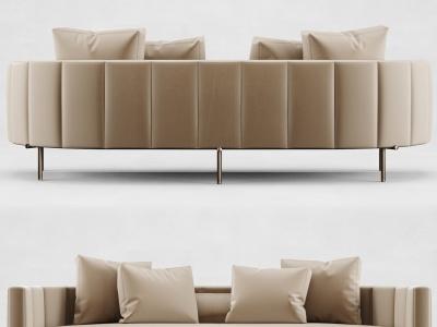 Minotti雙人沙發模型3d模型