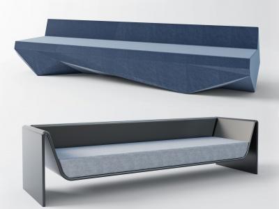 辦公沙發模型3d模型