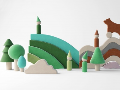 兒童娛樂區模型3d模型