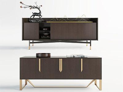 現代電視柜模型3d模型