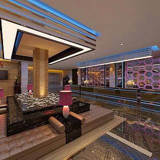 KTV包房3D模型