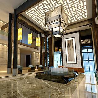 房产售楼部3D模型