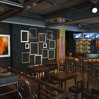 ktv酒吧6整体模型