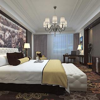 宾馆整体模型