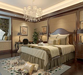 欧式豪华卧室