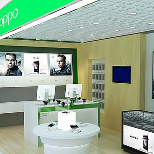 手机专卖店整体模型