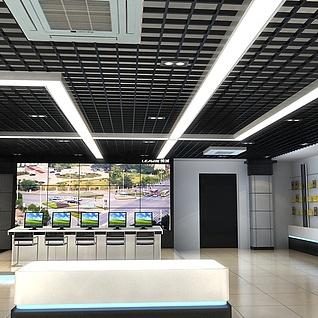 国网展厅整体模型