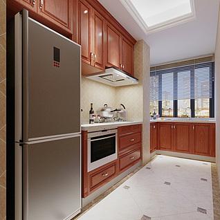 厨房整体模型