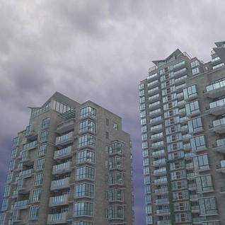 高层建筑整体模型