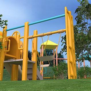游乐场整体模型