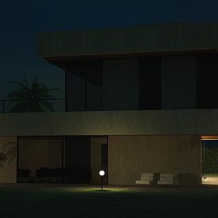 建筑整体模型