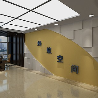电梯间整体模型