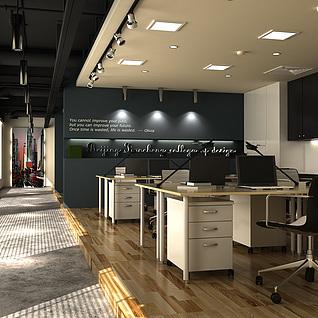 开放办公室整体模型