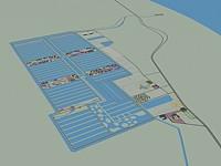 鸟瞰地形3d模型