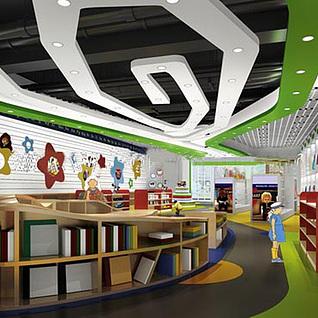 幼儿园展厅整体模型