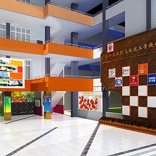 商场大楼整体模型