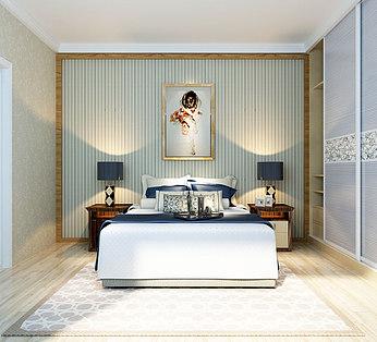 卧室简约,单镜头
