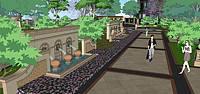 庭院景观3d模型
