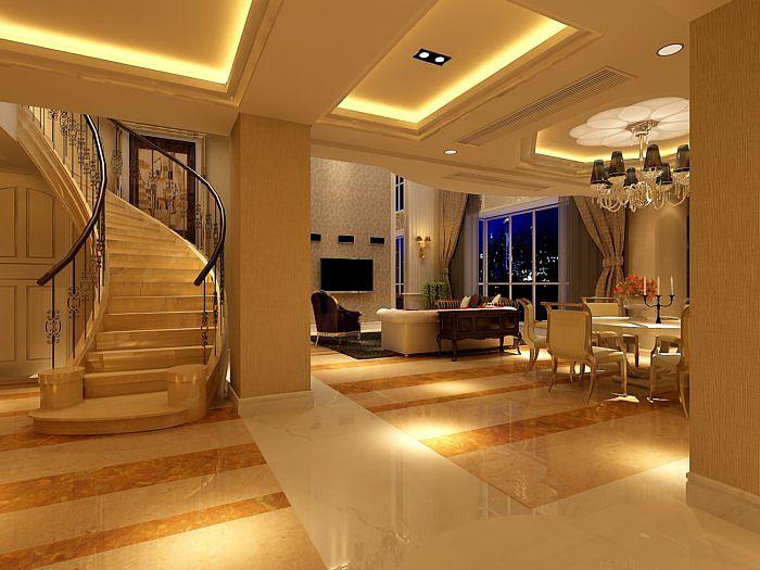 别墅楼梯模型