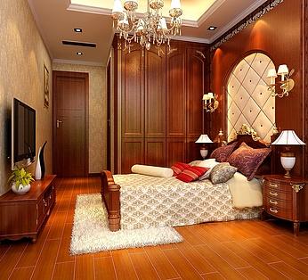 欧式古典卧室
