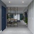 原创高精度北欧客厅3d模型