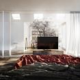 高精度简约风卧室3d模型