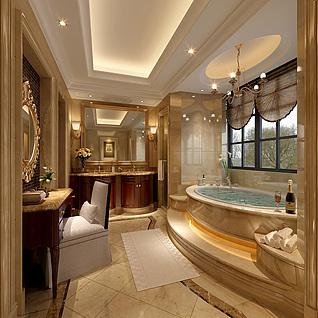 卫浴整体模型