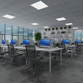 办公室经理室整体模型