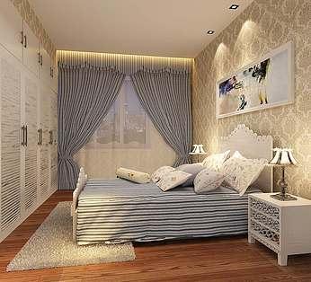 欧式田园卧室