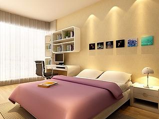 卧室家装模型