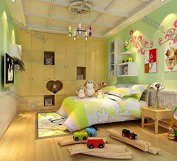 小朋友卧室