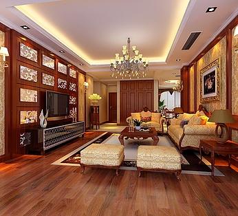古典欧式客厅