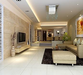 客厅电视背景设计